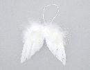 Engelflügel / Federflügel WEISS  80349 13 x 12 cm