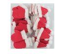 Filz Mix X-MAS ROT 35897 Mütze/Handschuh 2-fach / ca. 4cm / 48 Stück